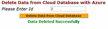 Delete Data From Table 28 Delete Data From Table Delete Data Using Edmf To Cloud