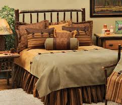 Western Bedding Wooded River Autumn Leaf Bedding Collection Luxury Western