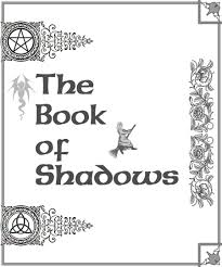 book shadows title pages book of shadows cover page 2 by