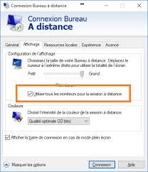 connection bureau a distance how to use remote desktop connection on client to connect on a