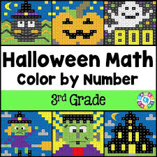 pattern games for third grade halloween math color by number 3rd grade games 4 gains