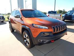 orange jeep 2016 orange jeep cherokee for sale used cars on buysellsearch