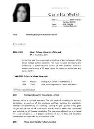 resume pdf template undergraduate sle resume template shocking format curriculum