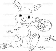 free printable easter bunny coloring pages for kids best of page