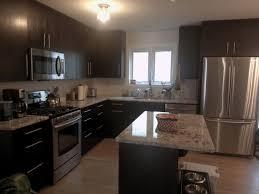 Modern Kitchen Cabinets Handles by Dark Modern Kitchen Kelly Custom Kitchens