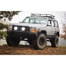 first jeep cherokee rugged ridge 11634 10 all terrain fender flare kit 4 door 84 01