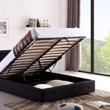 ottoman storage bed black u2013 interiors