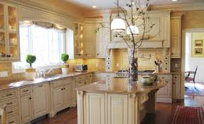 french country kitchen decorating with painted island terrific french country kitchen decor with broken white cabinets