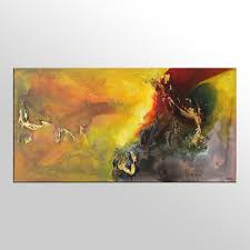 Painting Livingroom by Living Room Wall Art Abstract Painting Original Painting