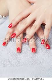 red nails stock images royalty free images u0026 vectors shutterstock