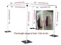 wedding backdrop frame wedding square canopy chuppah arbor drape stand wedding decoration