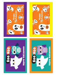 halloween gift tag printable u2013 festival collections