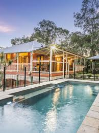 The Powder Room New Farm Queenslander Style Home Moved From New Farm To Brookfield