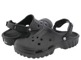 crocs off road black croslite slingback sandals clogs mules slides