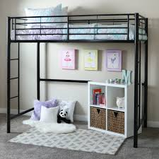 bedroom loft beds with home loft concepts metal twin loft bed and