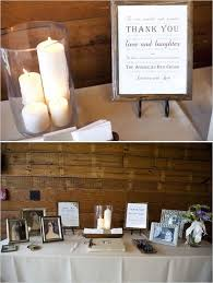 guest sign in book for funeral guest book and memory table combined really like the set up