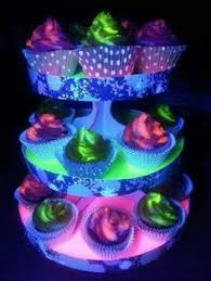 Glow In The Dark Party Decorations Ideas Created This Dessert Candy Buffet And Decor For My Daughter