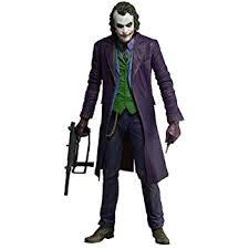 Heath Ledger Joker Halloween Costume Amazon Neca Dark Knight Joker Heath Ledger Action