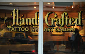handcrafted tattoo and art gallery home facebook