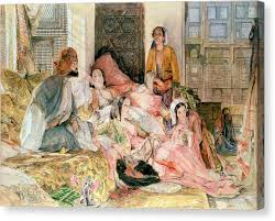 Harem Ottoman Ottoman Canvas Prints America