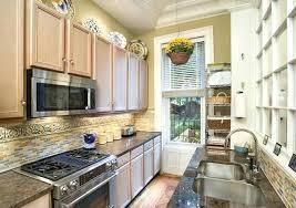 narrow galley kitchen ideas gallery kitchen ideas small galley kitchen design with kitchen cool