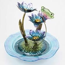 lotus butterfly outdoor design waterfall indoor tabletop water