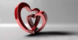 valentine u0027s day 3d heart illustration