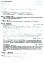 A Job Resume Example by Show Me A Example Of A Resume