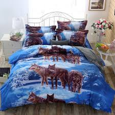 wolf bed set wolf bedding set wish