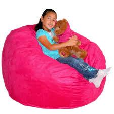 Big Joe Kids Lumin Bean Bag Chair Purple Bean Bag Chairs For Kids