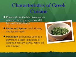 cuisine characteristics mediterranean cuisine