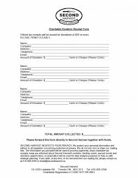 receipt donation receipt form