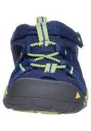 kids outdoor shoes keen seacamp ii cnx walking sandals blue