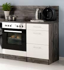 K Henzeile Komplett Küchenzeile Lissabon Küche Mit E Geräten Breite 220 Cm