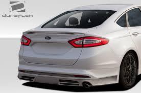 2013 ford fusion spoiler 2013 2016 ford fusion duraflex racer rear lip spoiler air