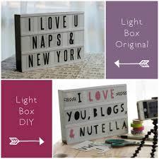 typo light box diy u2014 petit pixel design