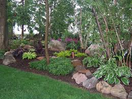 100 1689 shade garden landscape design hosta astble heuchera