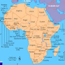 africa map islands africa