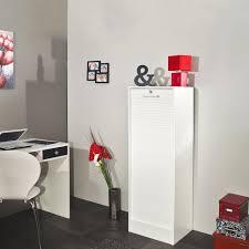 classeur de bureau pas cher classeur de bureau à rideau coloris blanc danny classeur à rideau
