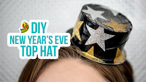 new year s tops how to craft a duck new year s top hat