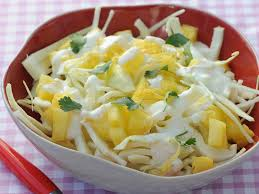 cuisiner du choux blanc salade de chou blanc à l ananas facile et pas cher recette sur