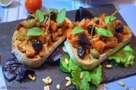 cuisine sicilienne caponata sicilienne les recettes de joséphine