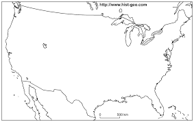 Map 0f America by Maps United States Map Blank Outline