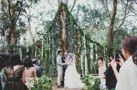 wedding backdrop melbourne melbourne wedding twilight vera wang green styling candlelight