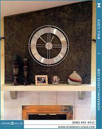 desks howard miller table clock howard miller mantel clock