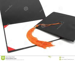 diploma frames with tassel holder graduation cap tassel and empty diploma frame royalty free stock