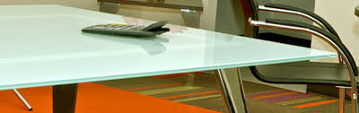 Frosted Glass Conference Table 6 20 Glass Conference Room Table With 5 Glass 6 Metal
