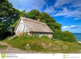 Cottage Houses Swedish Cottage House At Baltic Sea Stock Image Image 26719671