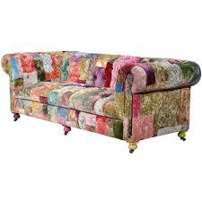 Patchwork Chesterfield - boho sofa bulous chesterfield chesterfield