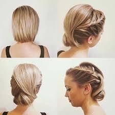 modele de coiffure pour mariage 30 modèles de coiffure mariage pour cheveux courts hair
